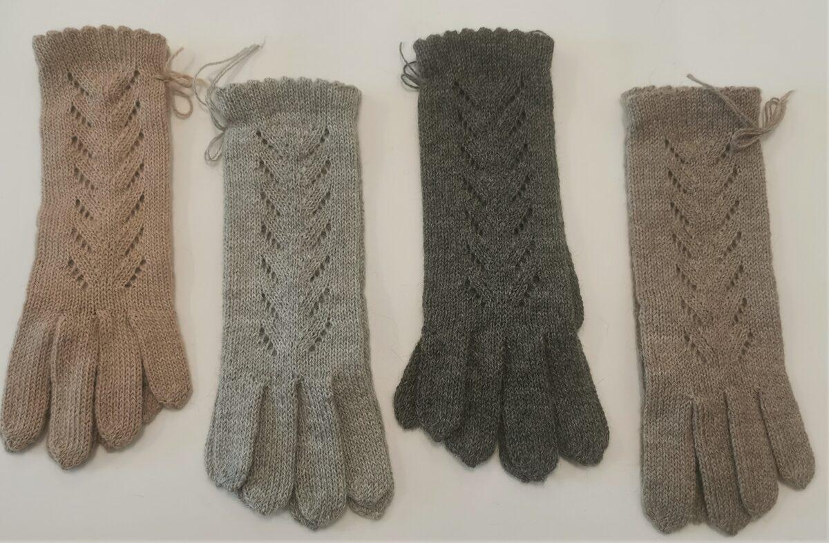 женские перчатки Классика, 100% альпака