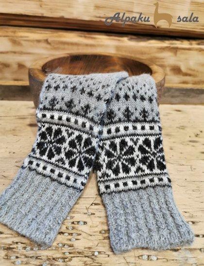 вязаные носки Selonia, 100% альпака