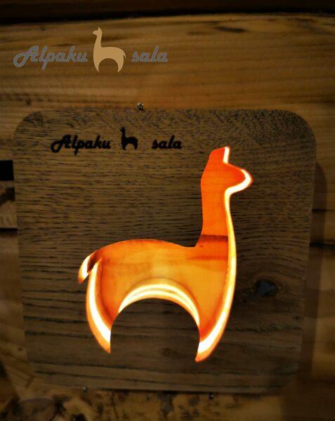 ночной свет альпака